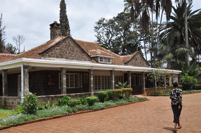 Karen Blixens farm Kenya photo