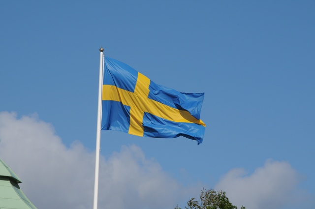 Svensk flag photo